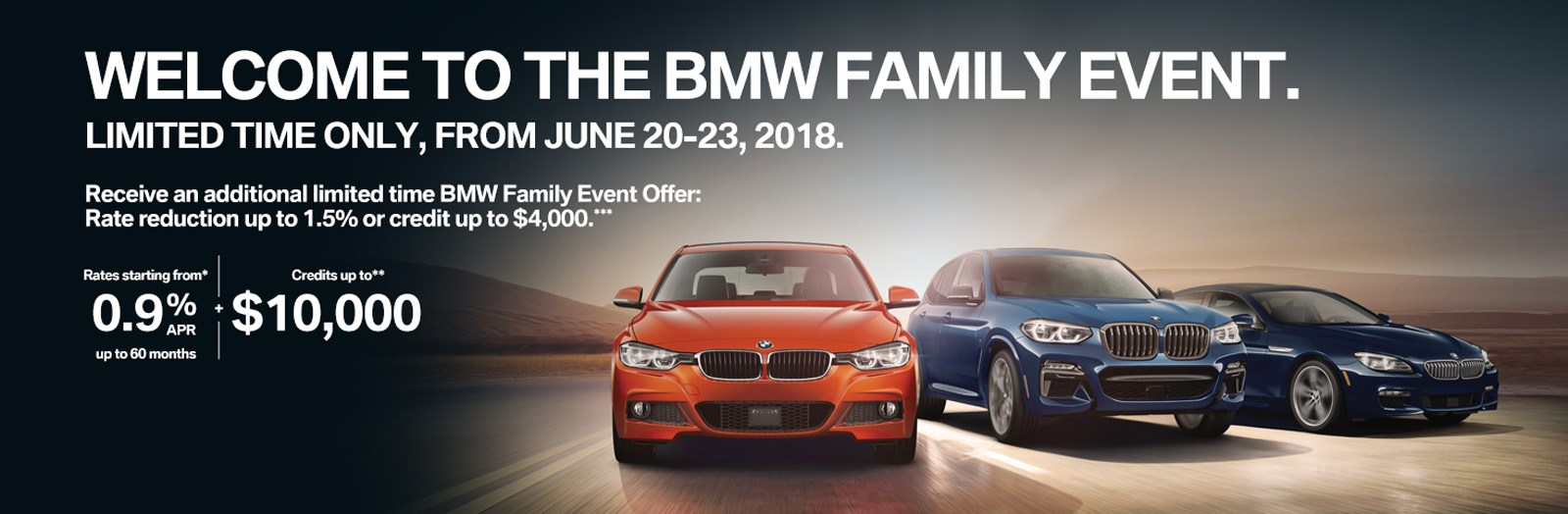 BMW Annual Demo Clearance
