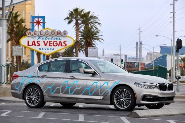 BMW at CES