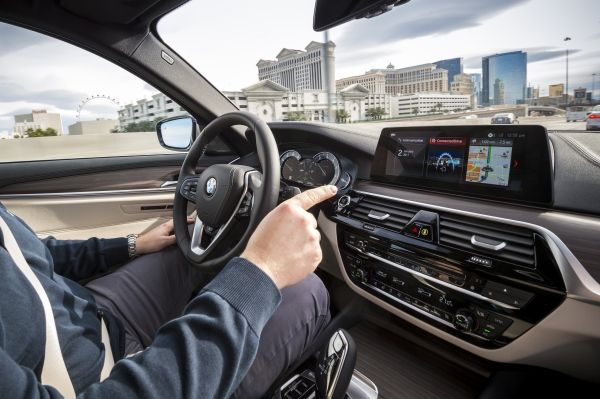 BMW 5-Series at CES
