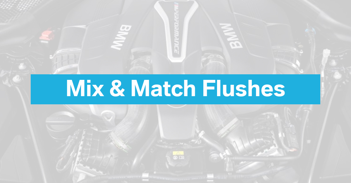 Mix and Match Flushes