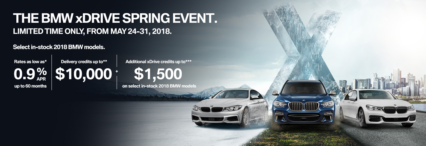 BMW XDrive Sales Event