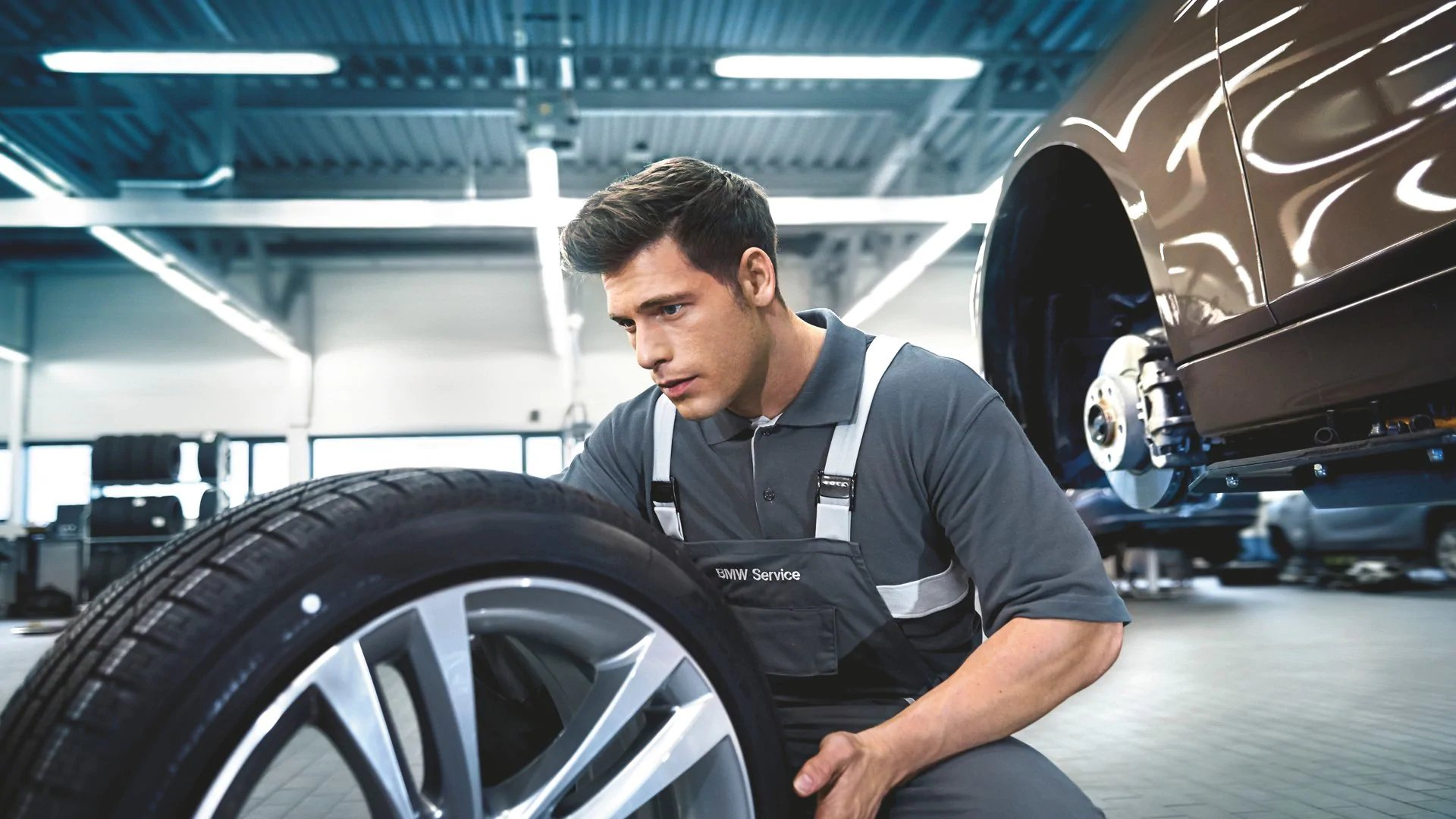 Spring Tire & Alignment Package