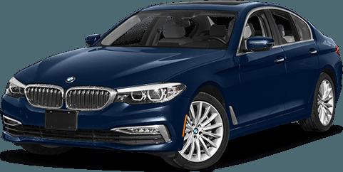 Blue 5 Series Sedan