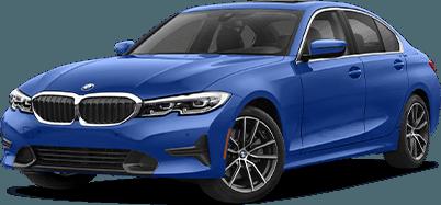 Blue 3 Series Sedan