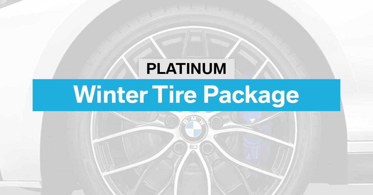 Platinum Winter Tire Package