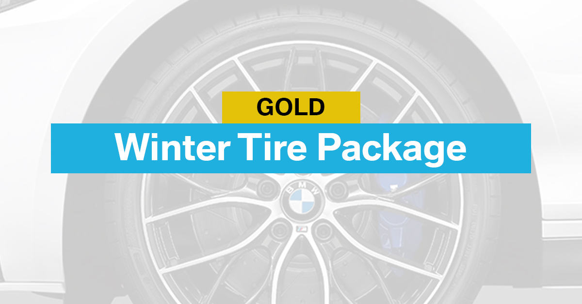 Gold Winter Tire Package