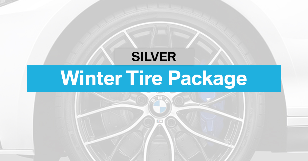 Silver Winter Tire Package