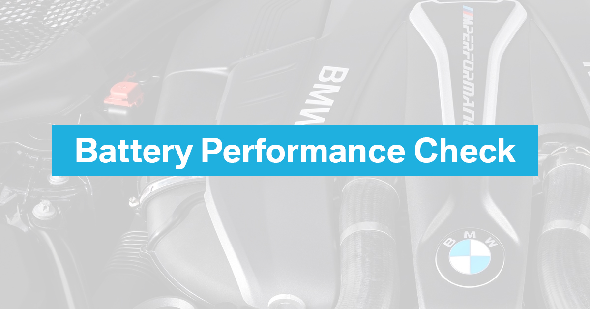 Complimentary Battery Performance Check